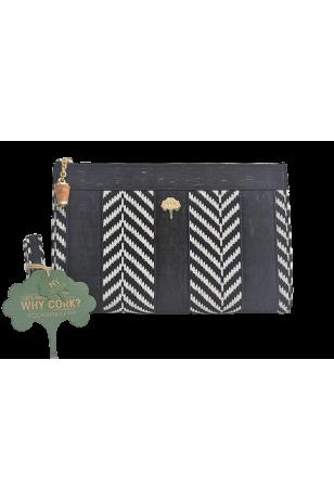 Hanna El Çantası Siyah Zebra